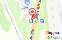 Схема проезда до компании КРЕПМАРКЕТ в Подольске