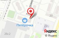 Схема проезда до компании Стройинвест Технологии в Подольске