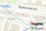 Схема проезда до компании ТАСС в Москве