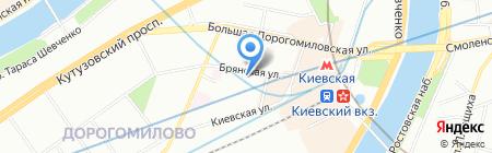 Сервис Оргтехники на карте Москвы