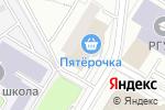 Схема проезда до компании Дапатент в Москве