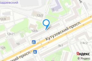 Комната в трехкомнатной квартире в Москве Кутузовский проспект, 8