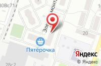 Схема проезда до компании Магазин штор и товаров для шитья в Подольске
