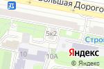 Схема проезда до компании Овертайм в Москве
