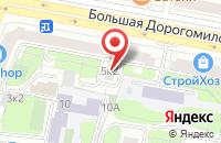 Схема проезда до компании ПродМаркет в Москве