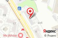 Схема проезда до компании Сэвелс в Москве