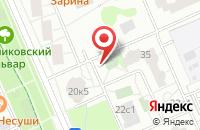 Схема проезда до компании МегаСистем в Москве