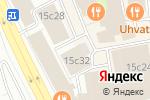 Схема проезда до компании Мануфактура в Москве