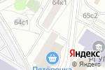 Схема проезда до компании Жилищник района Черемушки, ГБУ в Москве