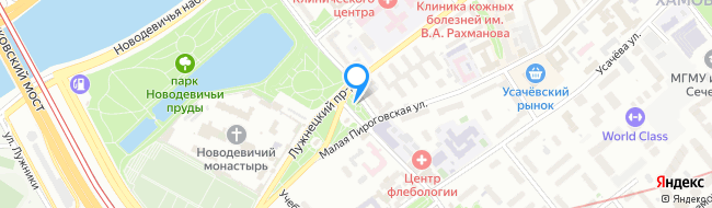 площадь Новодевичьего Монастыря