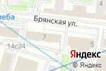 Схема проезда до компании Bosch Diagnostics в Москве