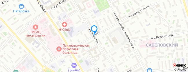 улица Юннатов