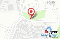 Схема проезда до компании Прогресс-М в Подольске