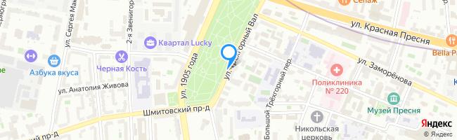 улица Трёхгорный Вал