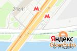 Схема проезда до компании Станция Воробьёвы горы в Москве