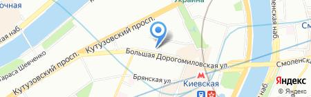 Батони на карте Москвы