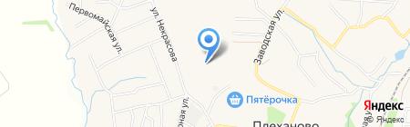 Новое Заречье на карте Хрущёво