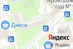 Схема проезда до компании Ситимаркет в Москве