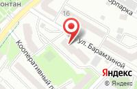 Схема проезда до компании Имидж-студия в Подольске