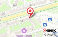 Схема проезда до компании Артформ в Подольске