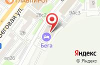 Схема проезда до компании Престиж Инвест в Москве