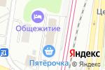 Схема проезда до компании In-variant в Москве