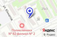 Схема проезда до компании МОНТАЖНО-ПРОИЗВОДСТВЕННАЯ ФИРМА HUNTER DOUGZAS EUROPE B. V. в Москве