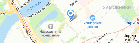 Цветы мира на карте Москвы