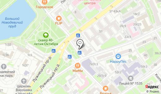 Цветы мира. Схема проезда в Москве