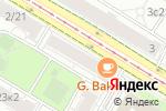 Схема проезда до компании Fineline в Москве