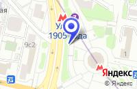 Схема проезда до компании КОНСАЛТИНГОВОЕ АГЕНТСТВО КОНКОРДАТ в Москве