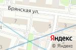 Схема проезда до компании Юридическая служба безопасности в Москве