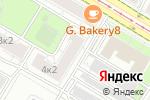 Схема проезда до компании Миал в Москве