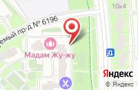 Схема проезда до компании Агабайт в Москве
