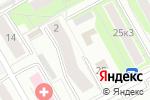 Схема проезда до компании ИСС сервис в Москве
