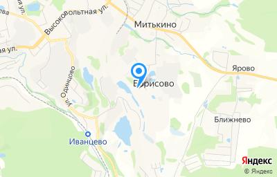 Местоположение на карте пункта техосмотра по адресу Московская обл, г Дмитров, с Борисово