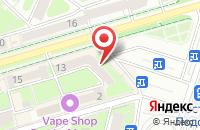 Схема проезда до компании Chipset в Подольске