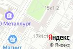 Схема проезда до компании Старый Мастер в Москве