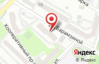 Схема проезда до компании Эйфория в Подольске