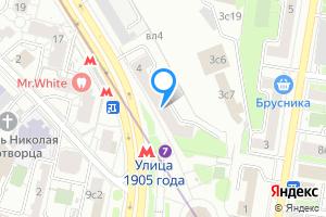 Сдается комната в однокомнатной квартире в Москве улица 1905 года, д 4