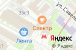 Схема проезда до компании Столовая на ул. Усачёва в Москве