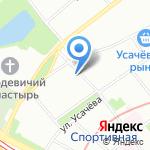 Городская поликлиника №68 на карте Москвы