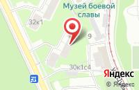 Схема проезда до компании Изолит в Москве