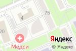 Схема проезда до компании Московский городской совет пенсионеров в Москве
