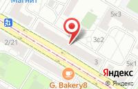 Схема проезда до компании Ав-Строй в Москве