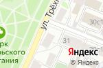 Схема проезда до компании Планета Здоровья в Москве