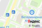 Схема проезда до компании Hard Foxez в Москве