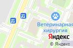 Схема проезда до компании Интерьер купе в Москве