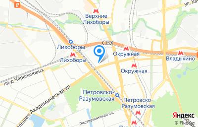 Местоположение на карте пункта техосмотра по адресу г Москва, проезд 3-й Нижнелихоборский, д 1