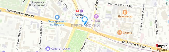 площадь Краснопресненская Застава